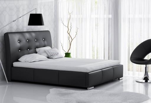 łóżko Tapicerowane 140x200 Do Sypialni 7 Dni 7359070084 Allegropl