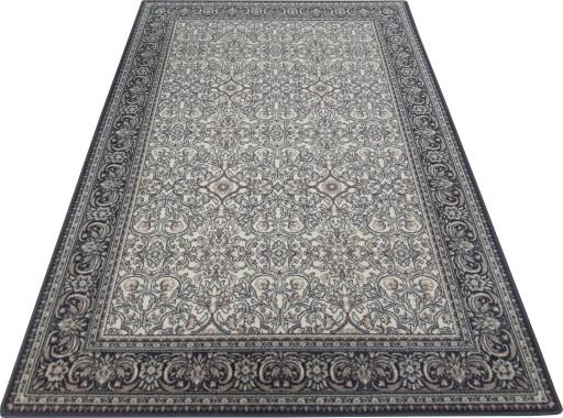 Dywan Wełniany Isfahan Salamanka 200x300 Szary 2x3