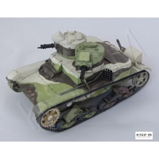 WAK 7-8/17  Czołg lekki Vickers Mk.E Type A 1:25