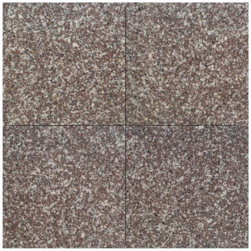 Płytki Tarasowe Granitowe Brąz 60x60x15