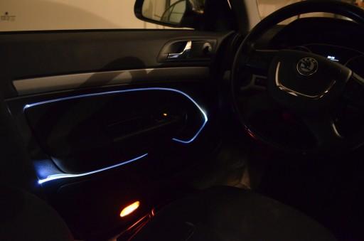 Oświetlenie Wnętrza Auta Samochodu Podsufitki