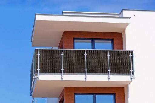 Osłona taras balkon technorattan NA WYMIAR 100 cm