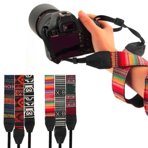 Nietypowy Okaz Pasek do aparatu Canon Nikon Sony Pentax Olympus 6847754146 YB95