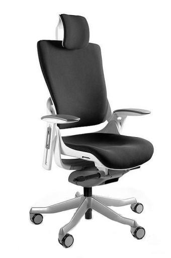 3aed1b1e375527 Fotel WAU 2 biały BL418 Human support wygoda 6682736437 - Allegro.pl -  Więcej niż aukcje.