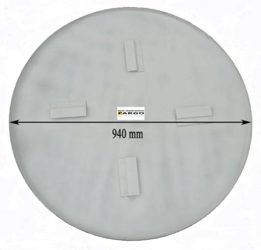 Dysk talerz do zacieraczki 90cm blacha 3mm