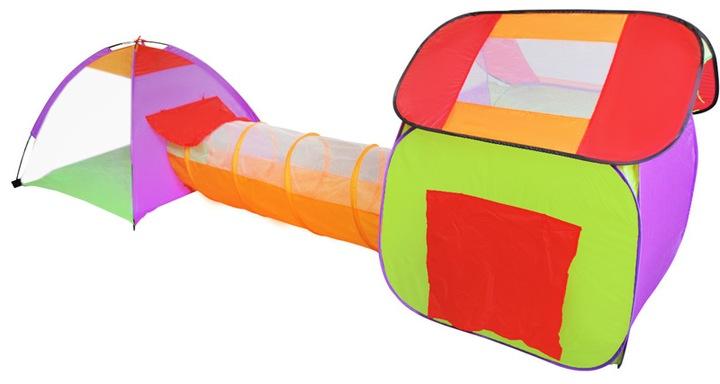 Палатка Домик, Сухой Бассейн, Тоннель для Детей 200Piłek доставка из Польши Allegro на русском