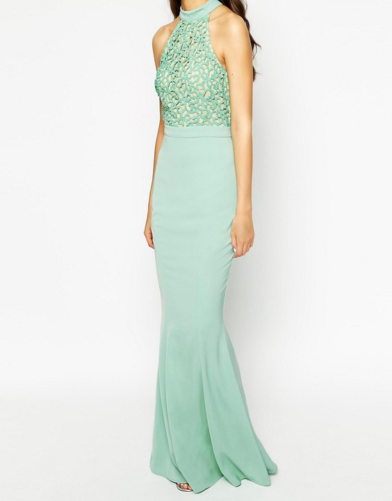 JARLO TALL maxi sukienka syrena koronkowy top M 38 7494380256 Odzież Damska Sukienki wieczorowe JX KKZQJX-2
