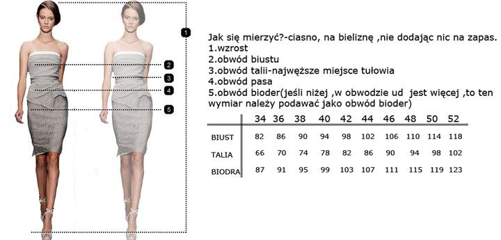 CAMILL 209 granatowa sukienka wysyłka 24h rozm.50 9616616065 Odzież Damska Sukienki wieczorowe ZF ABRMZF-5