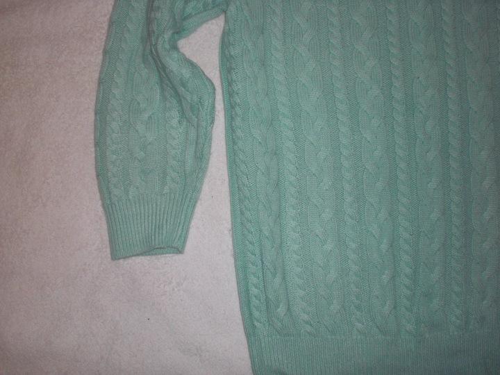 #*H&M*SPLOT MĘTOWY SUPER SWETEREK ROZ.S 9824407645 Odzież Damska Swetry MK