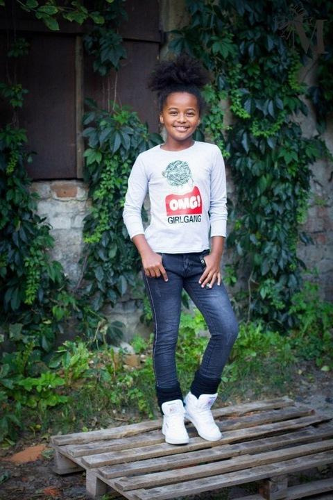 Bluzka dziewczęca r. 134 - 140 Mała mi 7758540495 Dziecięce Odzież SX PTLSSX-5